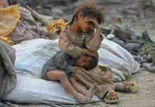 Dying Children in Iraq