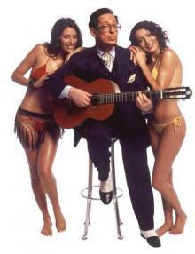 Earl Oakin playing the guitar