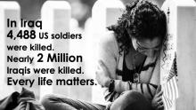 How many were killed in the Iraq war?
