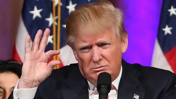 Tiny Donald Trump