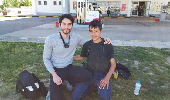 Mohammad JD in Greece