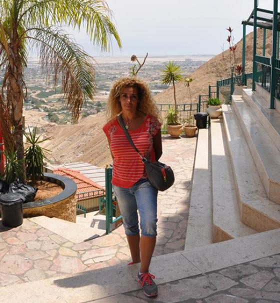 Rania Hammad in Palestine