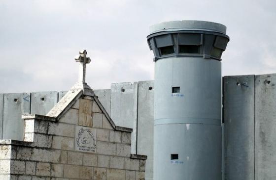 Guard tower in Bethlehem