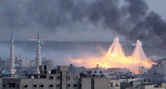 WMDs over Gaza